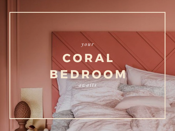 Coral Bedroom Ideas So Good You'll Never Want To Leave Your Bed coral bedroom ideas Coral Bedroom Ideas So Good You'll Never Want To Leave Your Bed Coral Bedroom Ideas So Good Youll Never Want To Leave Your Bed 600x450