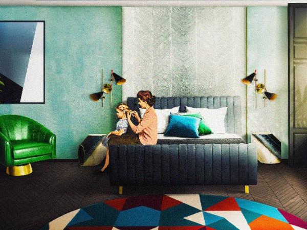 Modern Retro Bedroom Ideas 62