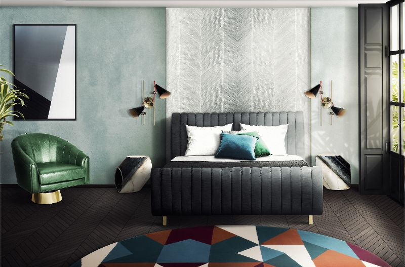 How To Create A Luxury Bedroom With A Velvet Bed