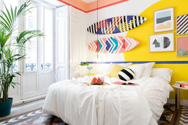 Memphis Design Bedroom by Masquespacio memphis design bedroom A Memphis Design Bedroom By Masquespacio You'll Love Memphis Design Bedroom by Masquespacio