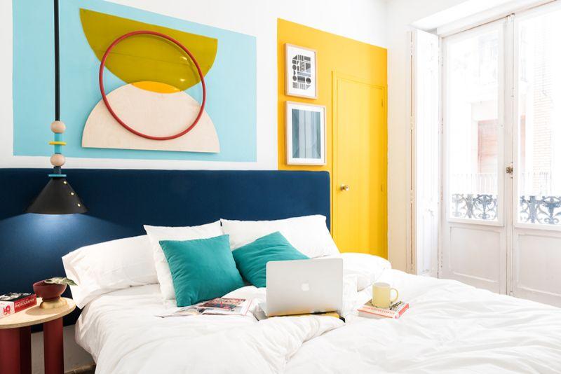 Memphis Design Bedroom by Masquespacio memphis design bedroom A Memphis Design Bedroom By Masquespacio You'll Love Memphis Design Bedroom by Masquespacio1
