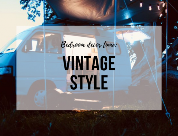 This Vintage Tiny Camper Van Has All The Key Details For Stylish Bedroom