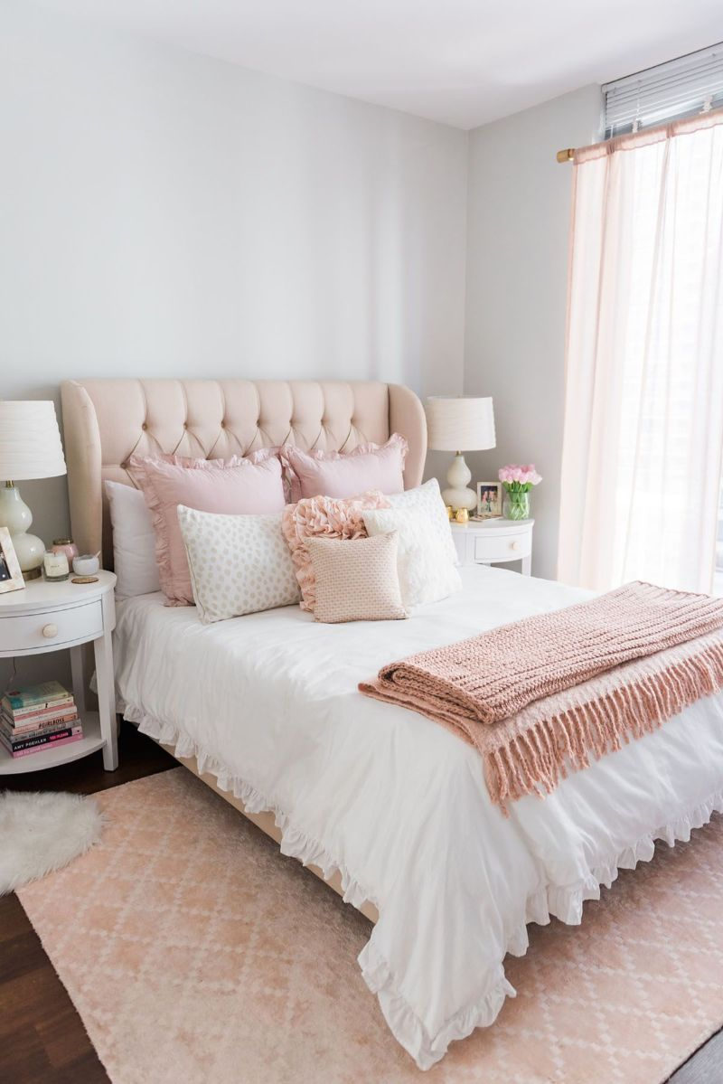5 Stylish Pink Bedroom Looks You'll Adore pink bedroom 5 Stylish Pink Bedroom Looks You'll Adore 5 Stylish Pink Bedroom Looks Youll Adore6