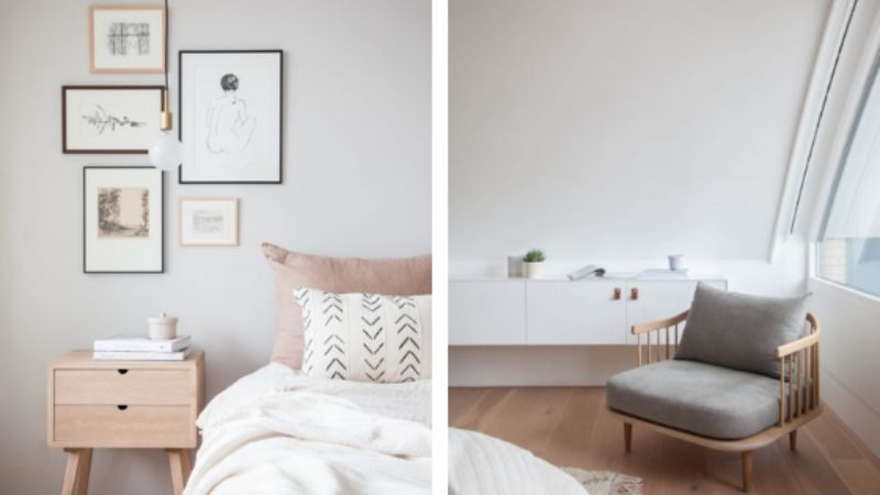 Here's The 5 Tips You Need To Create A Scandinavian Bedroom Decor