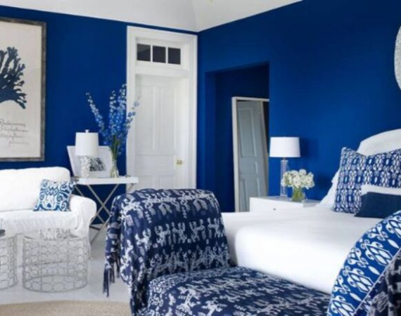 20 Of The Most Calming Blue Bedrooms Ever blue bedrooms 20 Of The Most Calming Blue Bedrooms Ever 20 Of The Most Calming Blue Bedrooms Ever25 570x450
