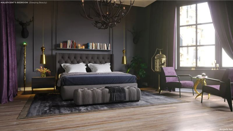 5 Bedroom Designs Inspired By Disney Villains bedroom designs 5 Bedroom Designs Inspired By Disney Villains Screen Shot 2019 10 28 at 14