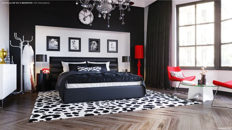 5 Bedroom Designs Inspired By Disney Villains bedroom designs 5 Bedroom Designs Inspired By Disney Villains Screen Shot 2019 10 28 at 15