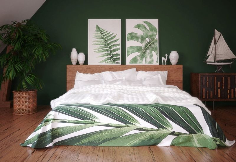 10 Bedroom Decor Styles That Are a Must-Have in 2020 bedroom design trends 10 Bedroom Design Trends That Are a Must-Have in 2020 Tropical bedroom AdobeStock artjafara 2 retina 459029 1