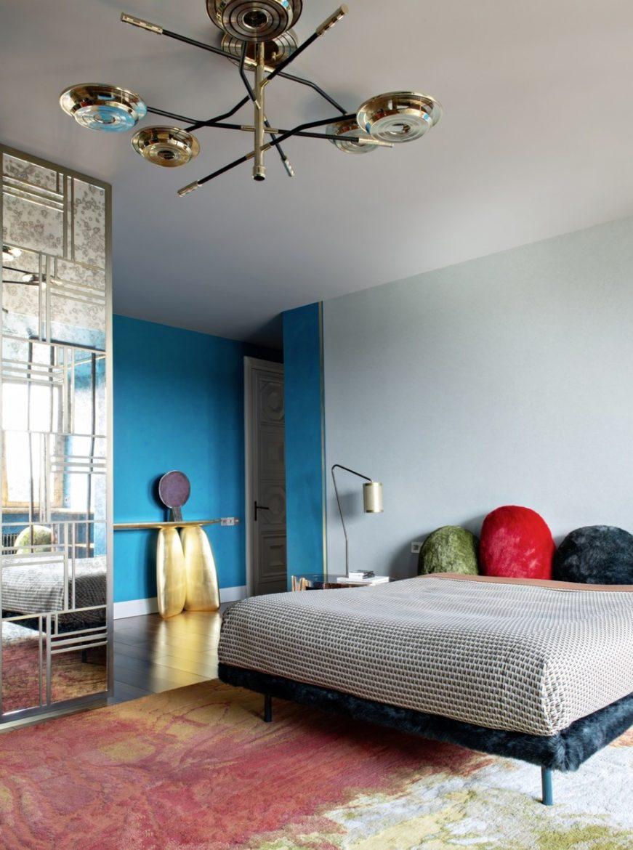modern bedrooms Unforgettable Modern Bedrooms by Art Bureau 1/1 1