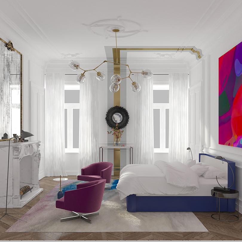 Unforgettable Modern Bedrooms by Art Bureau 1/1 modern bedrooms Unforgettable Modern Bedrooms by Art Bureau 1/1 19 elena design and decor Posta Magazine2