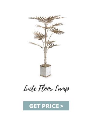 bedroom corners 5 Inspiring Bedroom Corners & How To Get The Look ivete floor lamp